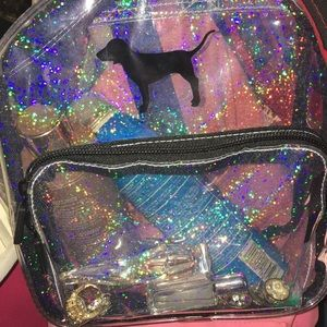 Victoria secret clear back pack perfect for beach